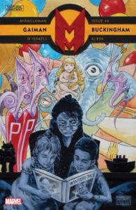 Portada de Miracleman by Gaiman & Buckingham #4. Por Mark Buckingham.