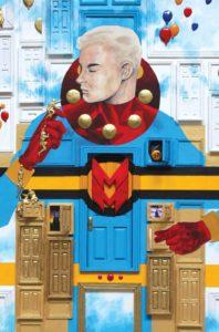 Portada alternativa de Miracleman by Gaiman & Buckingham #6. Por Mark Buckingham.