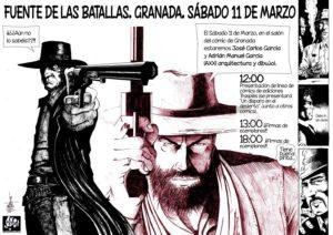 Cartel de Adrián Manuel García.