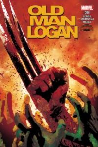 Secret Wars: Old Man Logan #4. Por Andrea Sorrentino y Marcelo Maiolo.