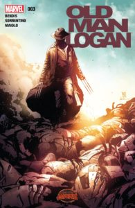 Secret Wars: Old Man Logan #3. Por Andrea Sorrentino y Marcelo Maiolo.