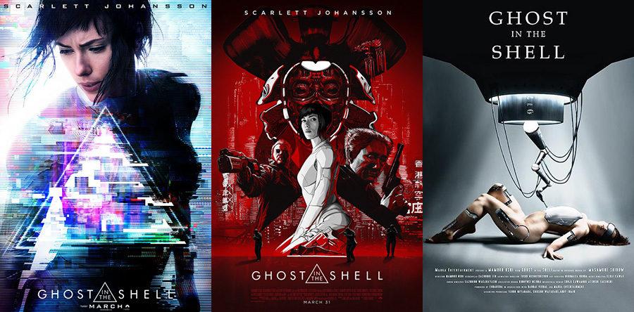 Carteles de Ghost in the Shell: El alma de la máquina
