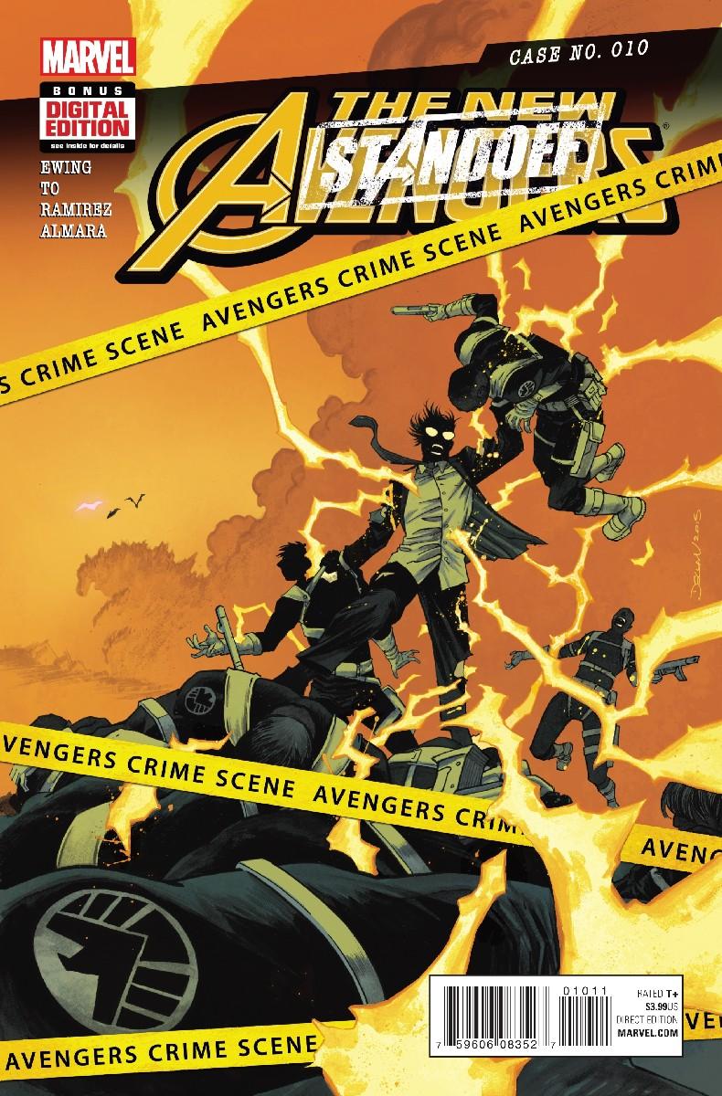 The New Avengers Vol 4 #10. Por Declan Shalvey y Jordie Bellaire.