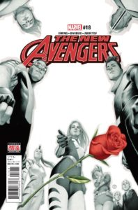 The New Avengers Vol 4 #18. Por Julian Totino Tedesco.