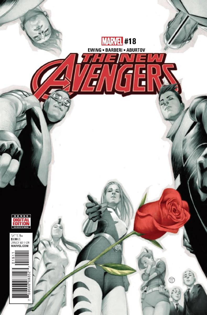 The New Avengers Vol 4 #18. Por Julian Totino Tedesco.