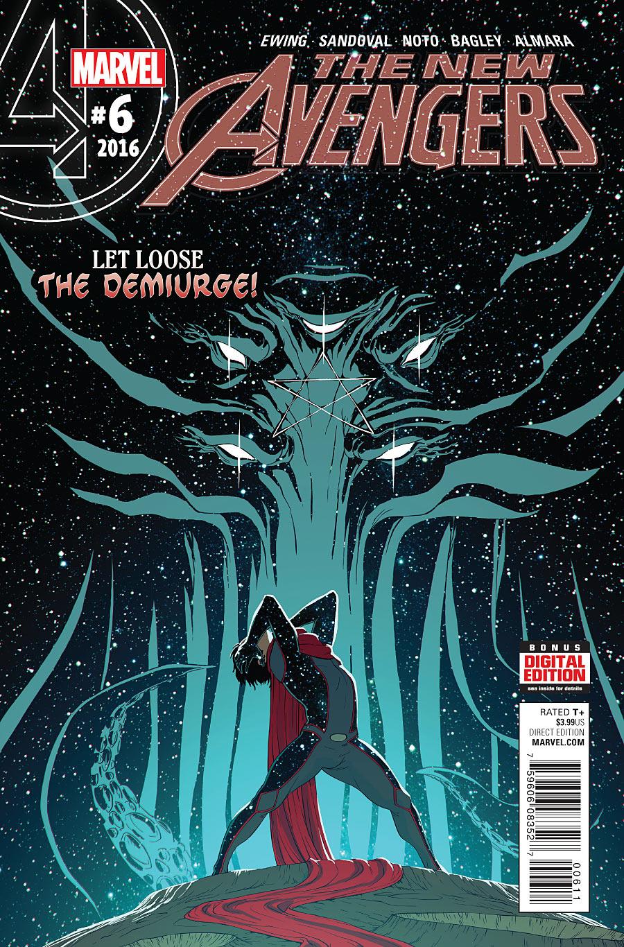 The New Avengers Vol 4 #6. Por Matt Rhodes.