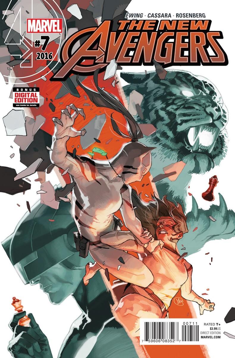 The New Avengers Vol 4 #7. Por Yasmine Putri.