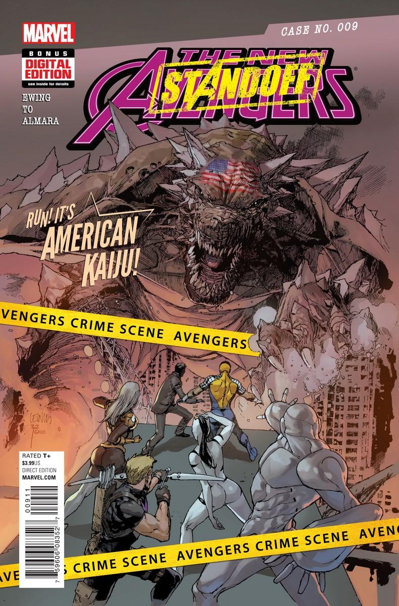 The New Avengers Vol 4 #9. Por Leinil Francis Yu y Sunny Gho.