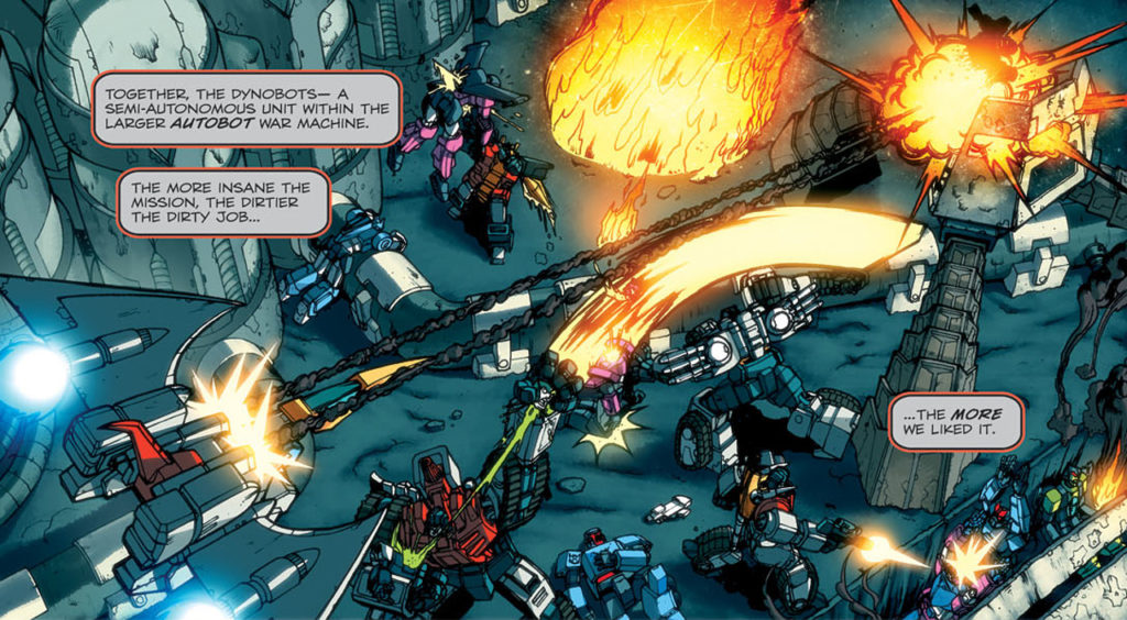 Masacre Dynobots