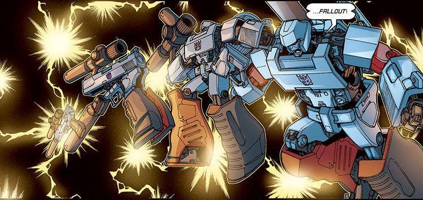 Transformación de Megatron