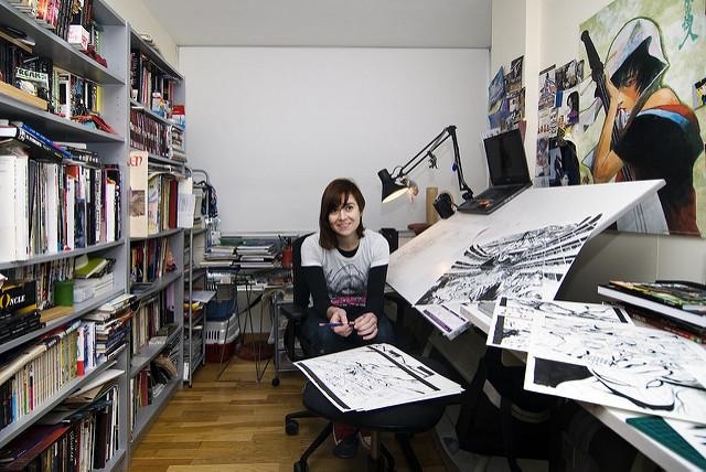 Emma Ríos estudio