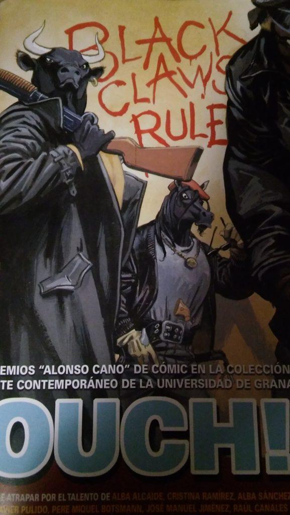 Portada de OUCH! 1. Obra de Juanjo Guarnido.