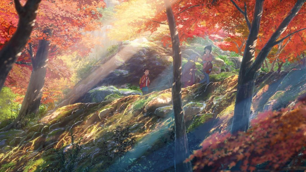Fotograma de Kimi no Na wa (Your Name)